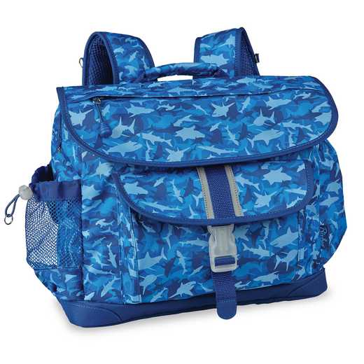 307002: Shark Camo Backpack MED